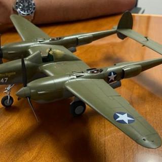 Jose Morales Jr. 1:48 Tamiya P-38 F/G (New Release) In-progress.