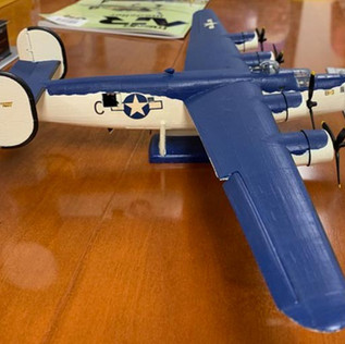 """Stew Swartz 1/48 """"Don't remember kit ... 30 years ago"""" PBY-4 Liberator (US Navy)"""
