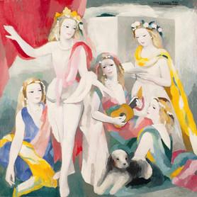 """Marie Laurencin - """"La répétition"""" - 1936"""