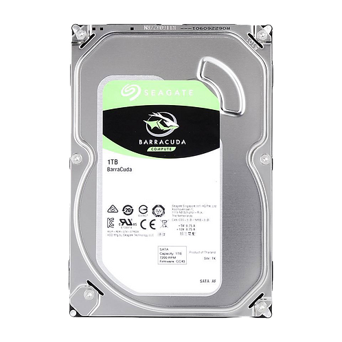 "Seagate Barracuda 1TB 3.5"" SATA 3 Hard Disk Drive/HDD 7200rpm"