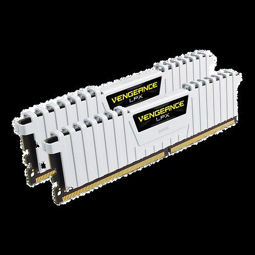 Corsair 16GB White Vengeance LPX DDR4 2666MHz RAM/Memory Kit 2x8GB Kit
