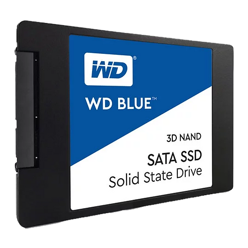 """WD 500GB Blue 3D NAND 2.5"""" SATA SSD/Solid State Drive"""