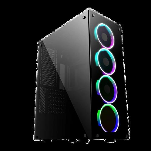 GameMax Predator RGB Tempered Glass Gaming Case