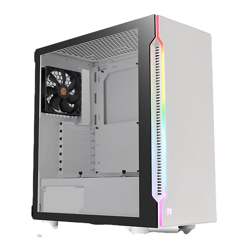 Thermaltake H200 Snow RGB Tempered Glass Mid Tower PC Case
