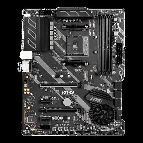 MSI AMD Ryzen X570 A PRO AM4 PCIe 4.0 ATX Motherboard