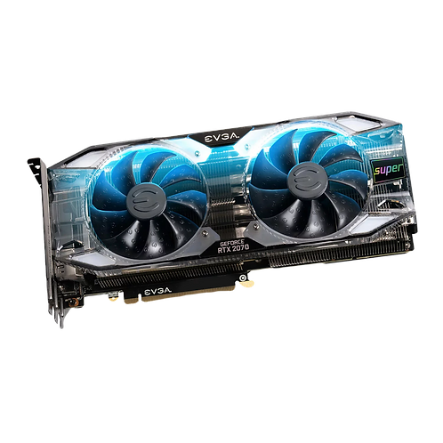 EVGA NVIDIA GeForce RTX 2070 SUPER 8GB XC ULTRA+ Overclocked Turing Graphics Car
