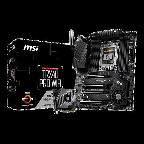 MSI AMD Threadripper TRX40 Pro WiFi PCIe 4.0 ATX Motherboard