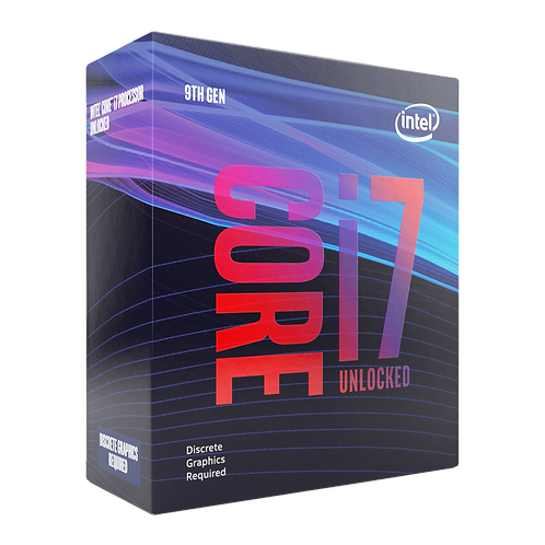 Intel Core i7 9700KF Unlocked 9th Gen Desktop Processor/CPU - No iGPU