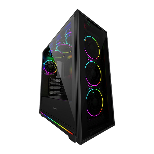 GameMax View ARGB Tempered Glass Mid Tower Case