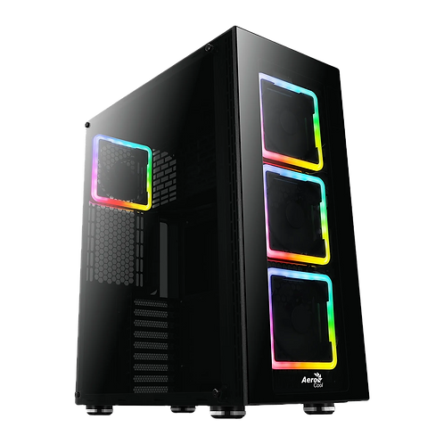 Aerocool Tor Pro Tempered Glass RGB Full Tower PC Gaming Case