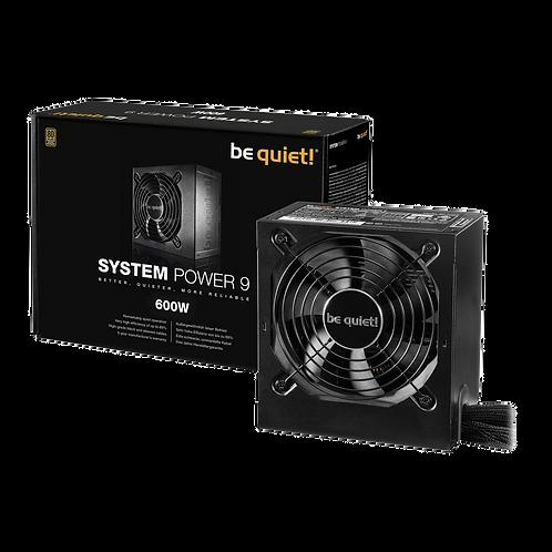 Be Quiet! System Power 9 600W 80+ Bronze PSU