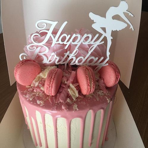 Standard: Happy Birthday Ballerina