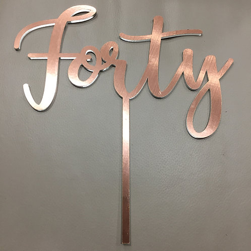 Standard: Forty 1
