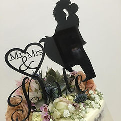 Mr & Mrs cake topper australia