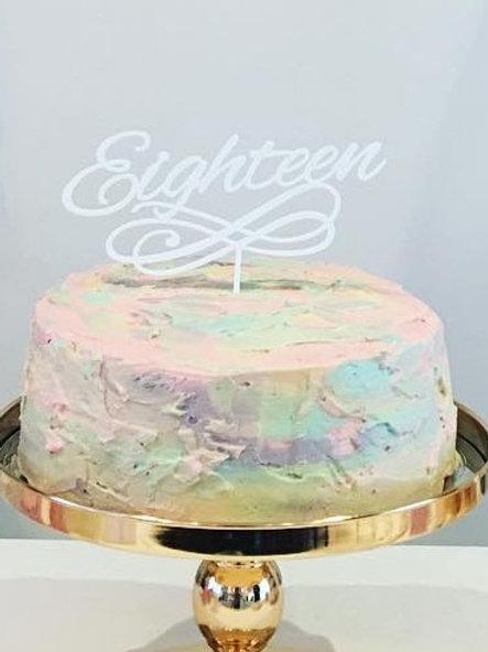 Standard: Eighteen 2