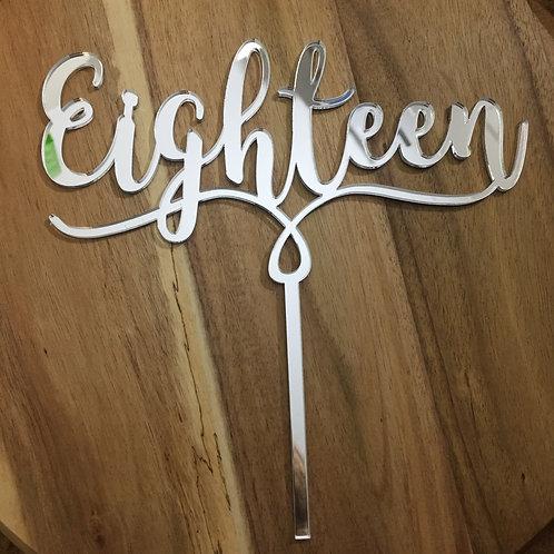 Standard: Eighteen 1