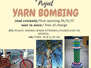 Yarn Bombing......