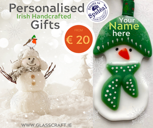 Personalised snowman Christmas gifts