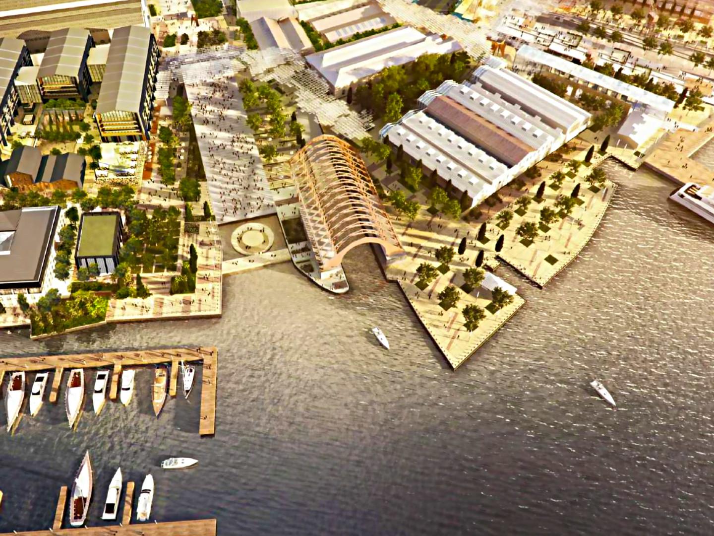 Haliç Shipyard: Valide Cradle and various buildings