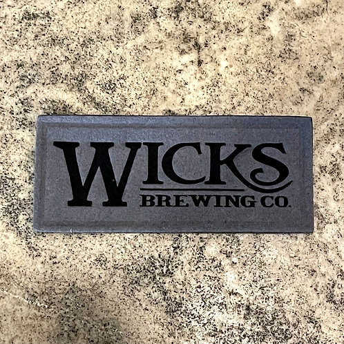 Wicks Suede Patch