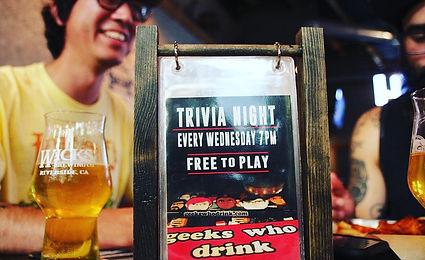 Geeks Who Drink Pub Trivia