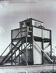 WW2 watchtower lookout (staffed 24 hrs a day by DP/BP residents)