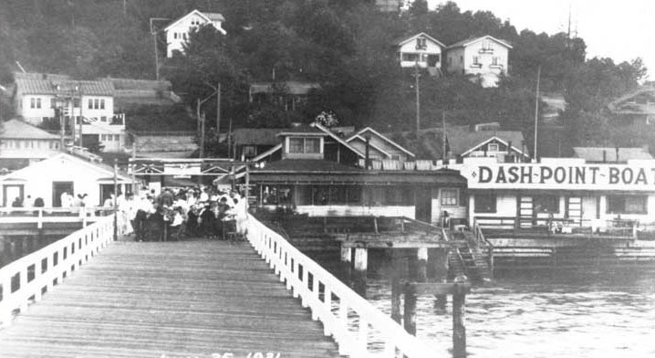 Dash Point Dock 1917