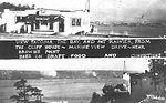 Browns Point's original Cliff House tavern (postcard)