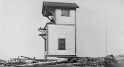 First Browns Point Lighthouse 1903