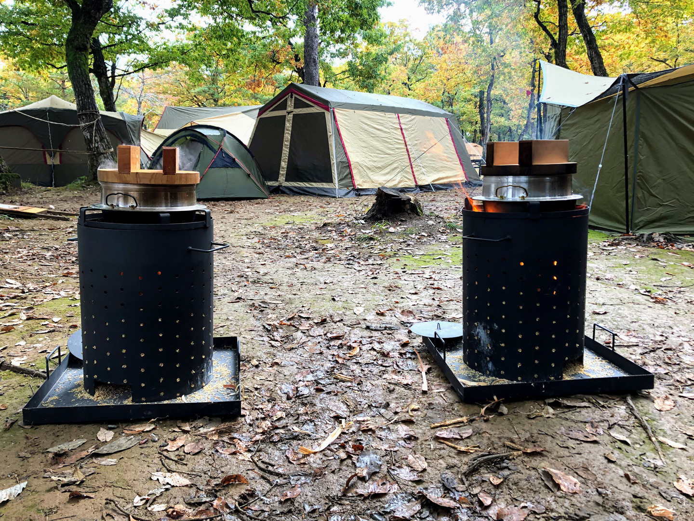森の恵を感じるキャンプ場