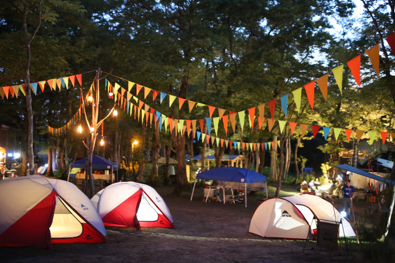 キャンプイベントなど、楽しい企画を随時開催