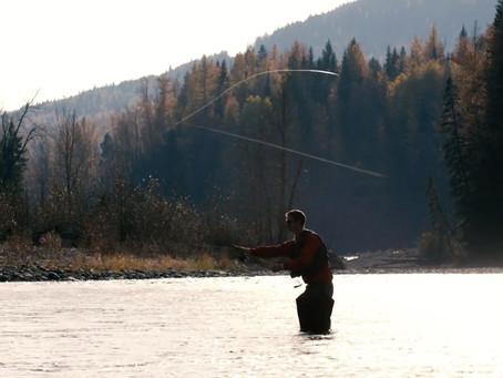 Fishing in Fernie BC