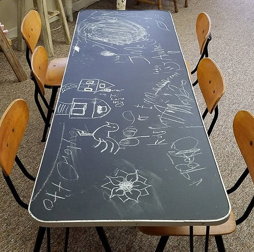 Chaulk board Childrens Table