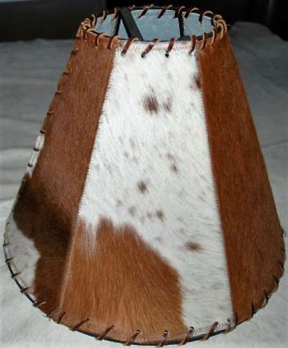 Cowhide Lamp Shade