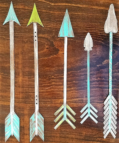 Hand Painted Arrows