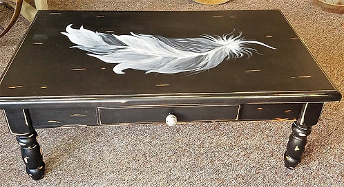 Feathered Coffee Table