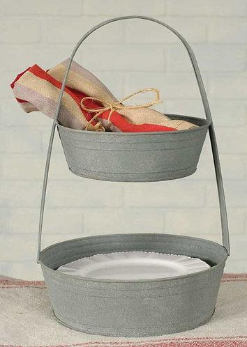 Stacked Display Basket