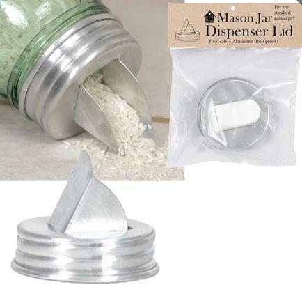 Dispenser Lid for Mason Jar