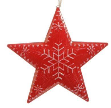 Metal Star Ornament