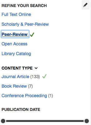 screenshot of ubc library website