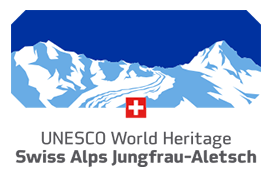 Unesco World Heritage Swiss Alps Jungfrau Aletsch by Strahlermuseum.com