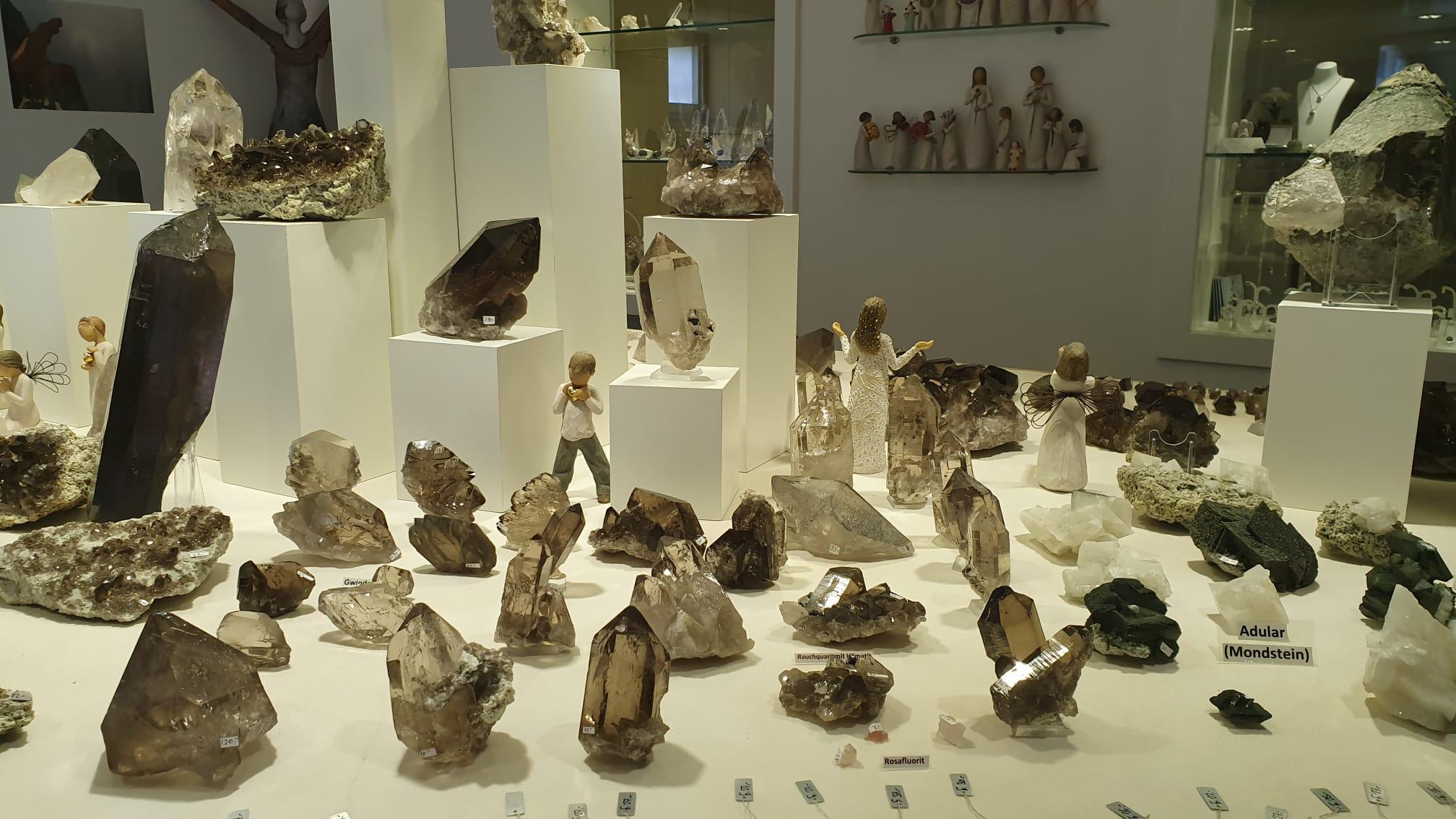 © Schweizerbergkristalle & Schweizer Strahler Museum Werner Schmidt im Wallis