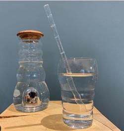 Wasser Karaffe und Gläser by Steinheimisch Wallis