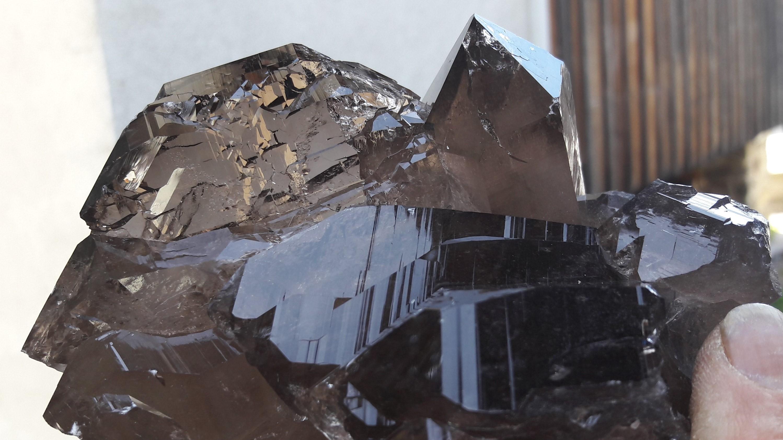 Gwindelstufe Kristalle Mineralien