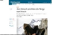 Medien Reportage von der Bayerischen Tageszeitung by Strahlermuseum.com