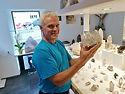 Schweizerbergkristalle vom Walliser Berufs Strahler  Werner Schmidt