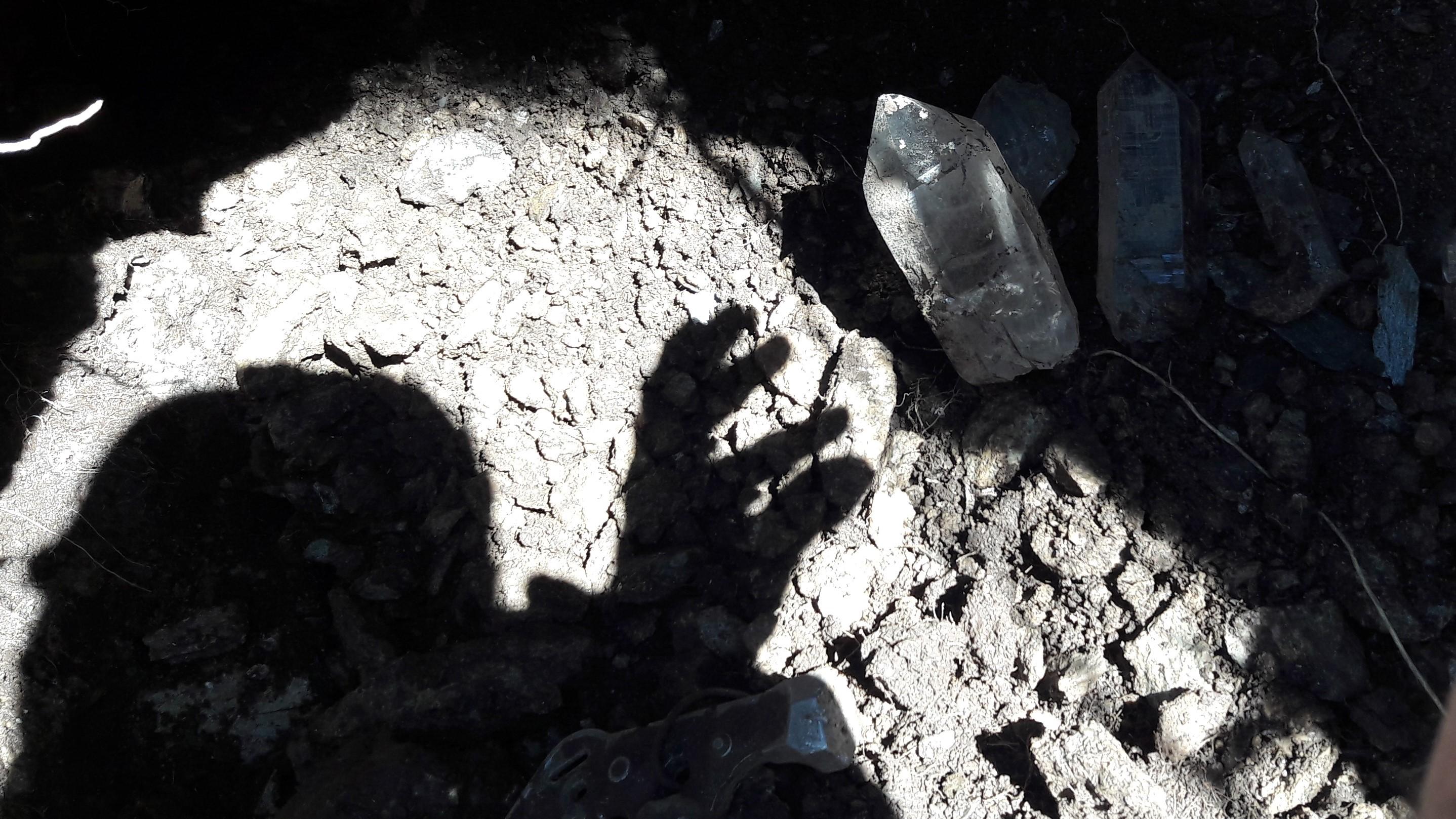 Kristalle Kristallkluft by Werner Schmidt