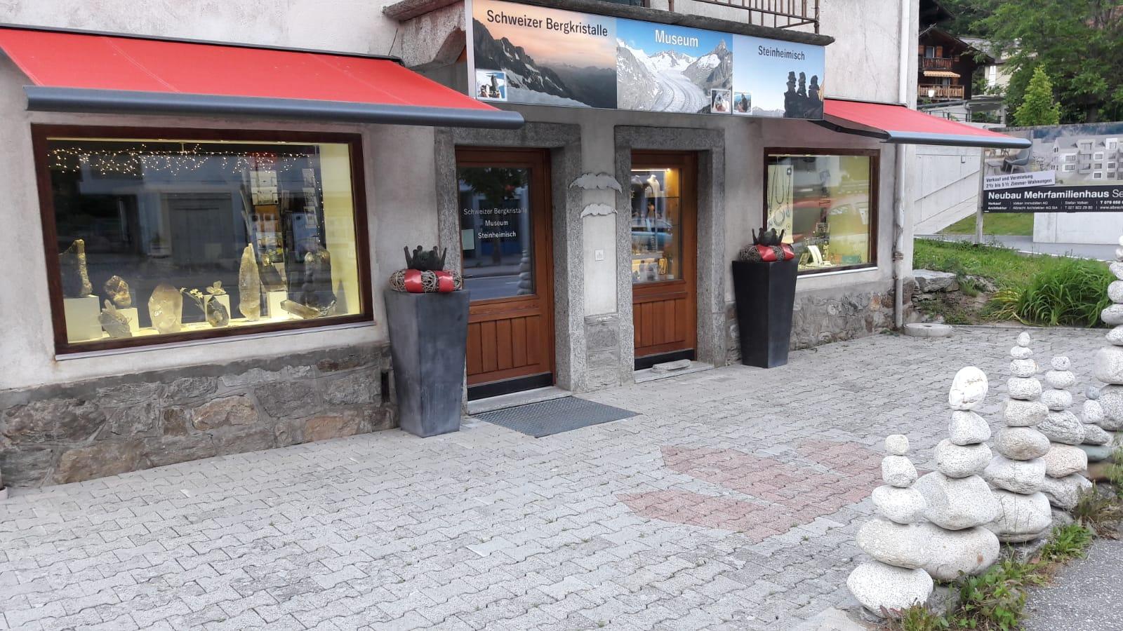 Schweizerbergkristalle und Schweizer Strahler Museum Wallis