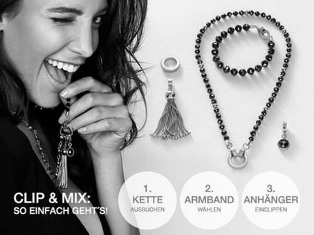 Clip & Mix Edelstahlschmuck