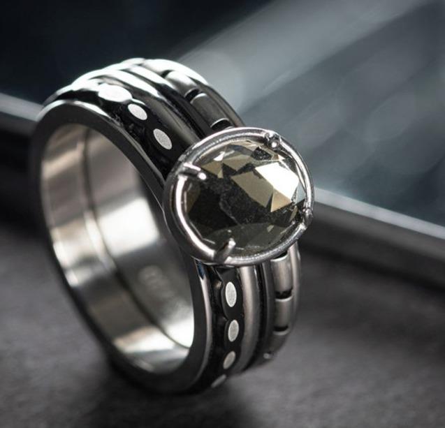 iXXXi Ring by Steinheimisch Schmuck